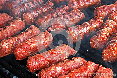Romanian traditional sausages