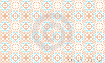 Romanian traditional seamless pattern - cdr format