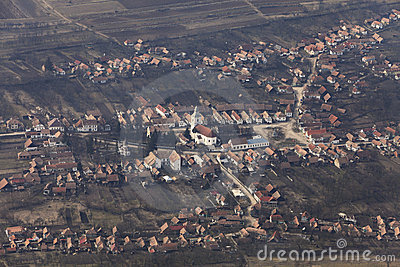Romanian village