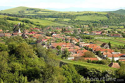 A romanian village with huge history