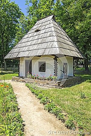 Romanian Village Hut