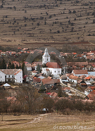 Romanian village-Rametea