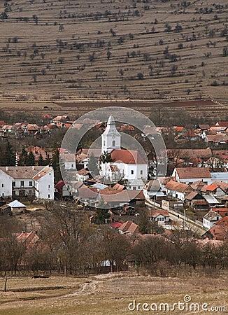Romanian village-Rametea