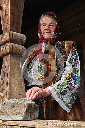 Free Romanian Woman Royalty Free Stock Image - 79562666