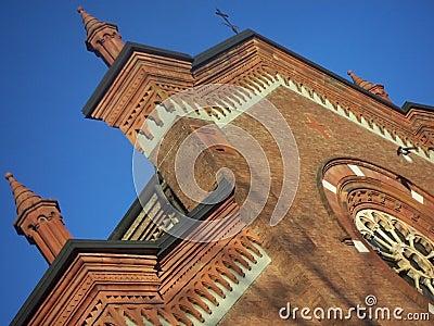 Romanic church - detali