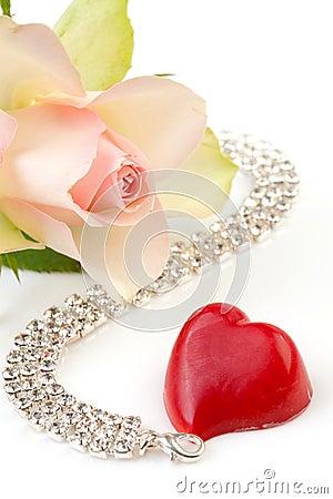 Romanskt symboliskt för förälskelse