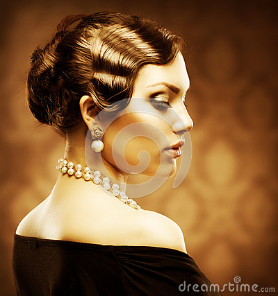 Free Romantic Beauty. Vintage Stock Photography - 25452692
