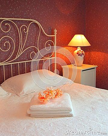 Romantic bedroom interior