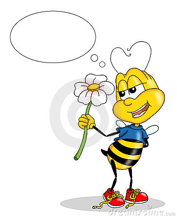 Romantic bee