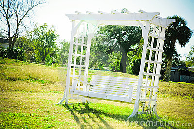 Romantic Bench Swing
