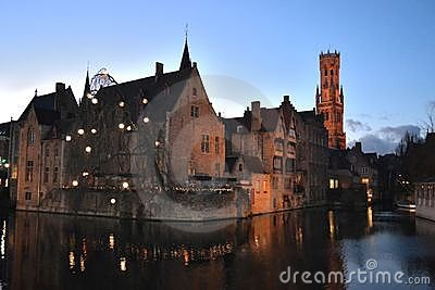 Romantic Bruges in Belgium