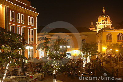 Romantic Cartagena at Night