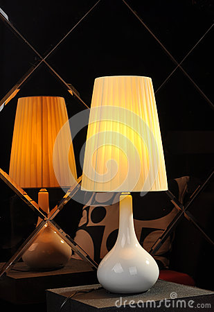 Free Romantic Christmas Gift Desk Lamp Table Light,Home Furnishing Decoration Romantic Christmas Gift,Holiday Gift Valentine Gift Royalty Free Stock Photos - 30994708