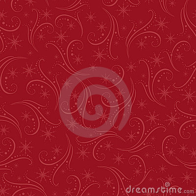 Romantic christmas seamless background