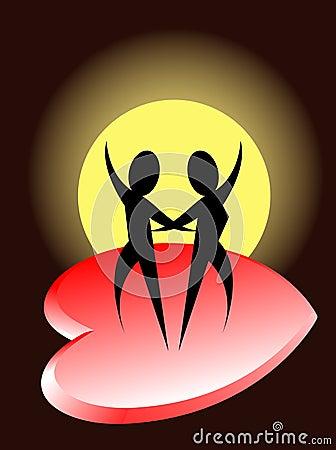 Romantic dance