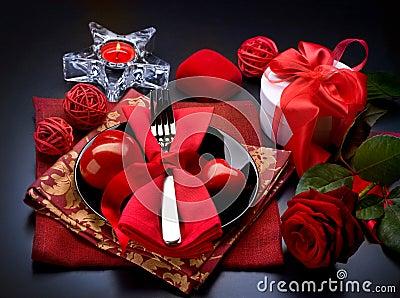 Romantic Dinner. Valentines Day