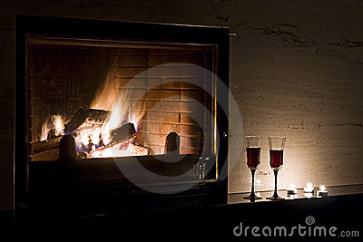 Romantic Evening Royalty Free Stock Photography - Image: 12901807