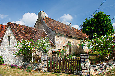 Romantic French house