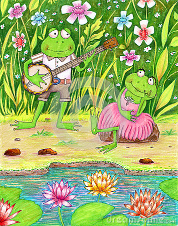 Romantic Frogs