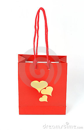 Romantic gift bag