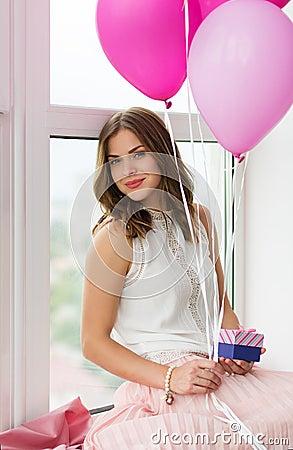 Free Romantic Girl Stock Image - 56942841