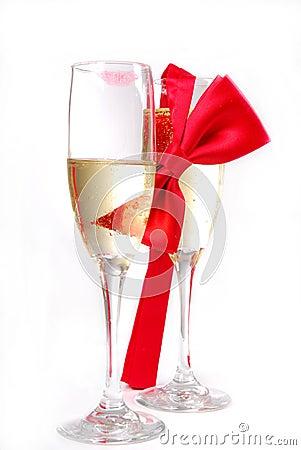 Free Romantic Glasses Stock Images - 3960134