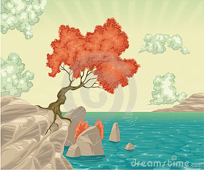 Romantic landscape