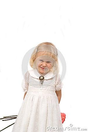 Romantic little girl