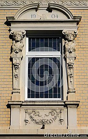 Romantic old window