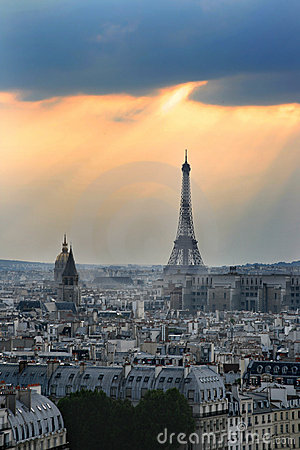 Free Romantic Paris, France Royalty Free Stock Image - 14067436