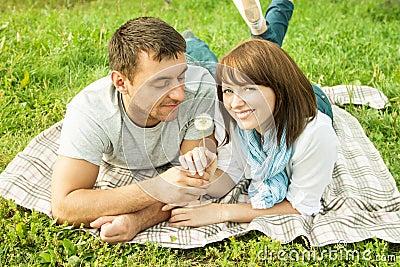 Romantic picnic