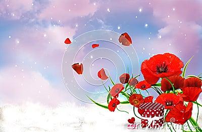 Romantic Poppyes