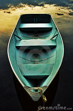 Free Romantic Rowboat Stock Photography - 615762