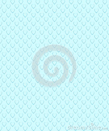 Romantic seamless pattern. Pattern with heart shape. Stock Photo