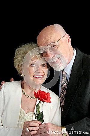Romantic Senior Couple