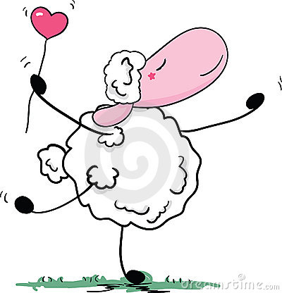 Romantic sheep dance