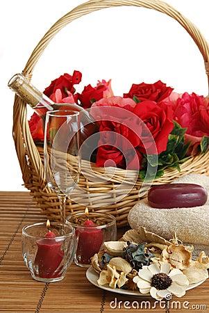 Free Romantic Spa Royalty Free Stock Photos - 3970398