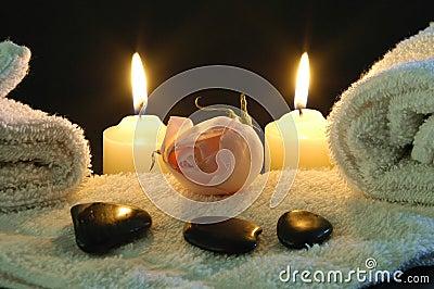 Romantic spa night