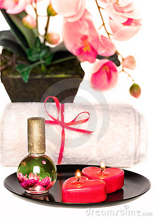 Romantic spa set