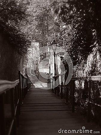 Romantic stairs