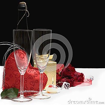 Romantic still life