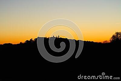 Romantic Sunset Backlight