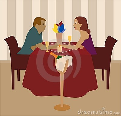 Romantic supper