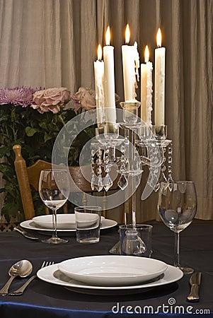 Free Romantic Table Royalty Free Stock Photo - 4194195