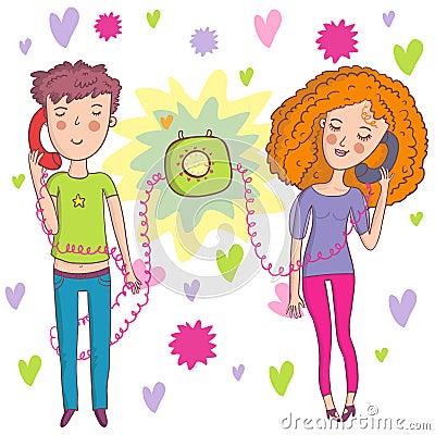 Romantic talk