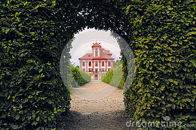 Romantic Troja Castle