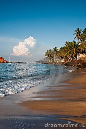 Romantic Tropical Beach Royalty Free Stock Photos - Image: 23579738