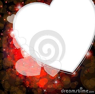 Romantic Valentines Day card