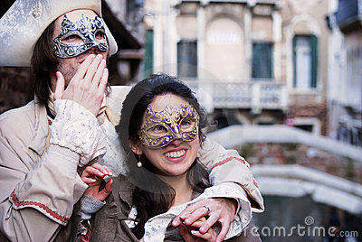 Romantic Venice Editorial Photo