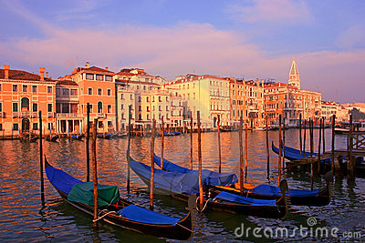 Romantic Venice in Italy